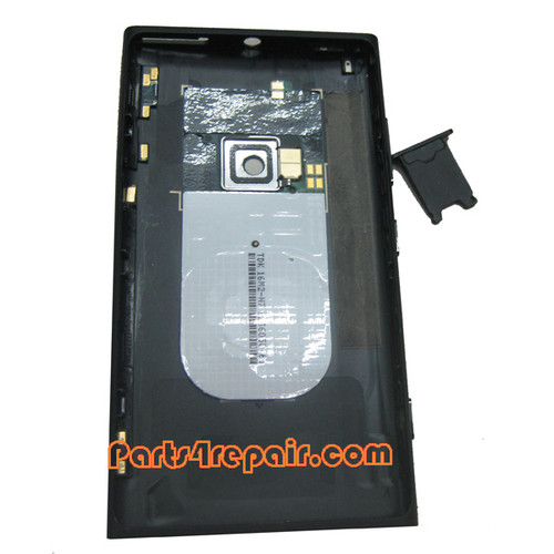 Back Housing Assembly Cover with NFC for Nokia Lumia 920 -Black