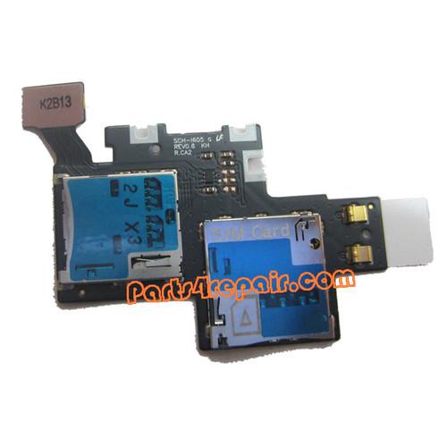 SIM Holder for Samsung Galaxy Note II CDMA (SCH-I605)