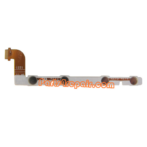 Volume Flex Cable for Asus Google Nexus 7 from www.parts4repair.com