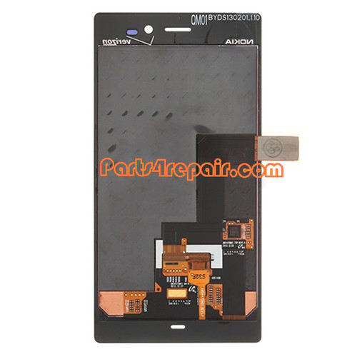 Complete Screen Assembly for Nokia Lumia 928 (for Version)