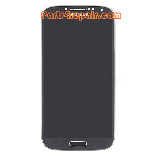 Complete Screen Assembly with Bezel for Samsung I9500 Galaxy S4 -Blue from www.parts4repair.com