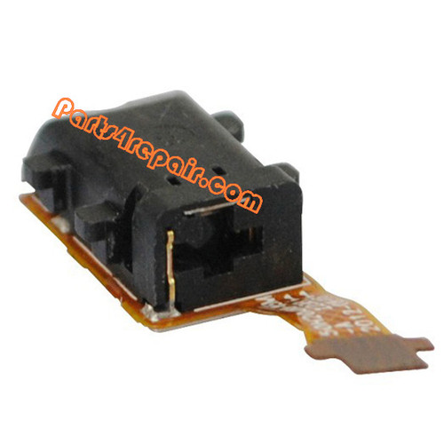 Earphone Jack Flex Cable for HTC Window Phone 8X