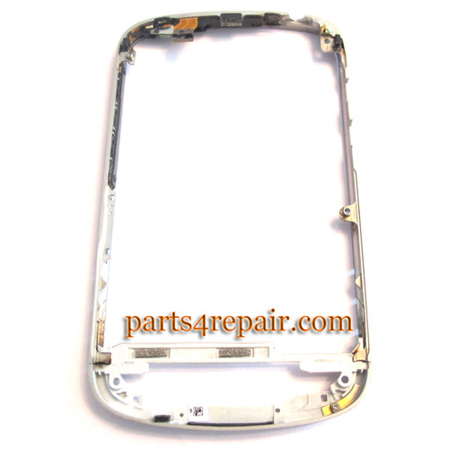 Middle Bezel for BlackBerry Q10 -White