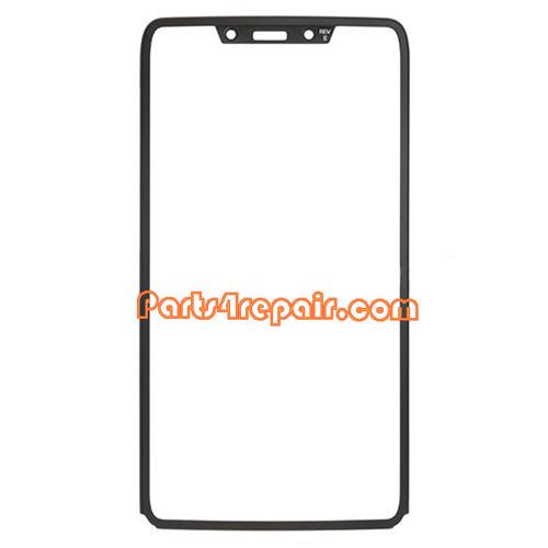 Front Bezel for Motorola RAZR I XT890 -Black