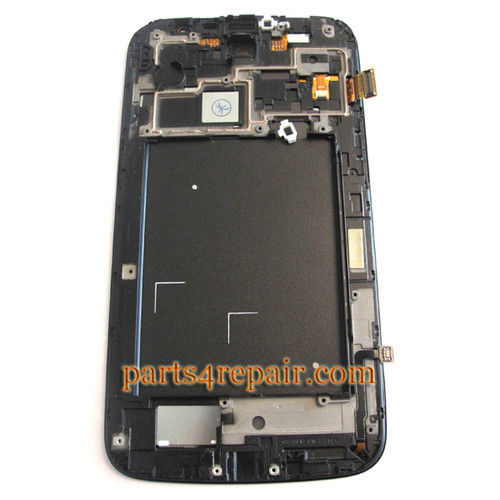 Complete Screen Assembly with Bezel for Samsung Galaxy Mega 6.3 I9200 -Blue