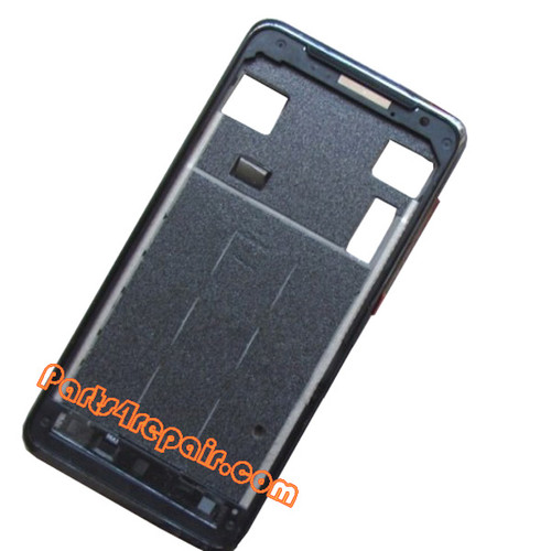 LCD Bezel for HTC J Z321E -Black from www.parts4repair.com