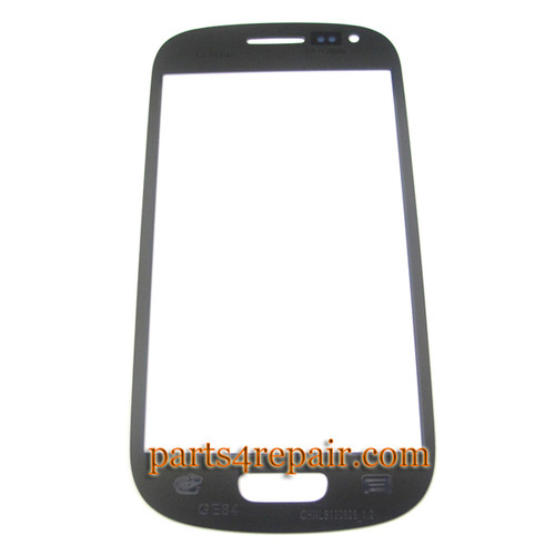 Glass Lens OEM for Samsung I8190 Galaxy S III mini -Blue