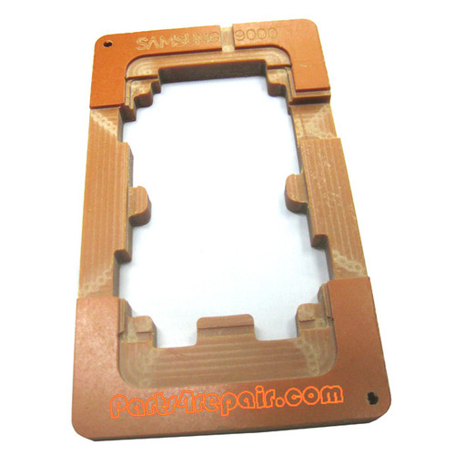 UV Glue (LOCA) Alignment Mould for Samsung I9000 Galaxy S LCD Glass