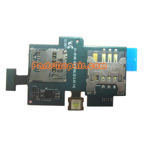 SIM Holder Flex Cable for Samsung I9198 Galaxy S4 mini