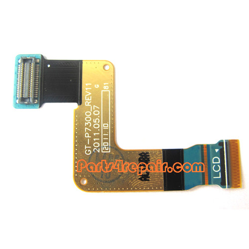 LCD Connector Flex Cable for Samsung Galaxy Tab 8.9 P7300 from www.parts4repair.com