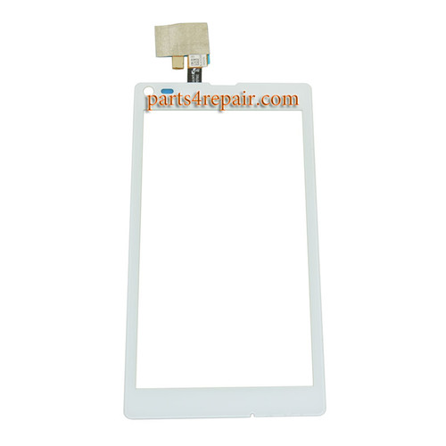 Touch Screen Digitizer for Sony Xperia L S36H from www.parts4repair.com