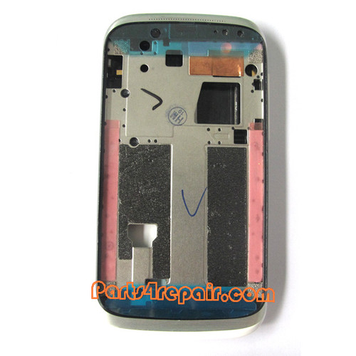 Full Housing Cover for HTC Desire V T328W -White from www.parts4repair.com