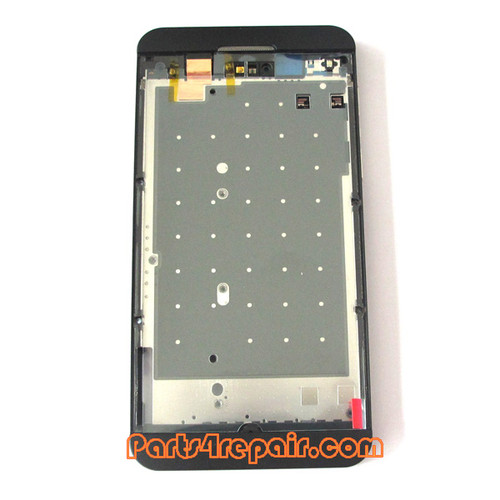 Middle Plate for BlackBerry Z10 4G -Black