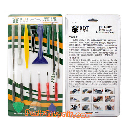BEST BST-602 17 in 1 Diassemble Tools Set