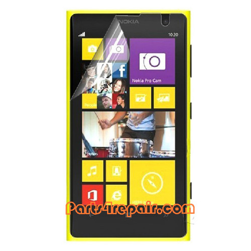 Nokia Lumia 1020 Clear Screen Protector Shield Film from www.parts4repair.com