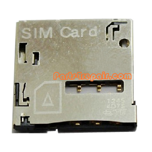 SIM Contact Holder for Samsung Galaxy Note II N7100 from www.parts4repair.com
