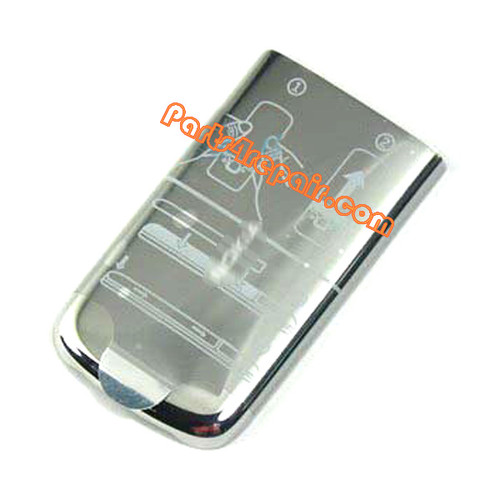 Battery Cover for Nokia 6700 Classic -Silver