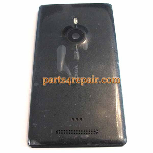 Back Housing Cover for Nokia Lumia 925 -Black from www.parts4repair.com