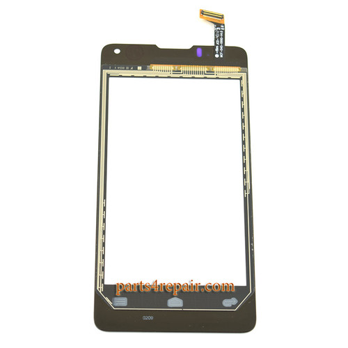 Touch Screen Digitizer for Huawei Ascend Y300 U8833 -Black