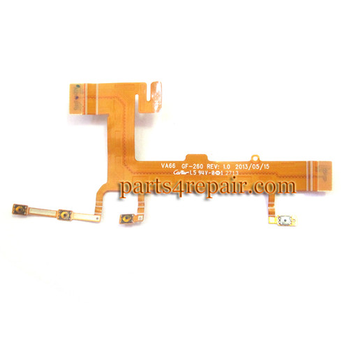 Side Key Flex Cable for Nokia Lumia 625 -Used