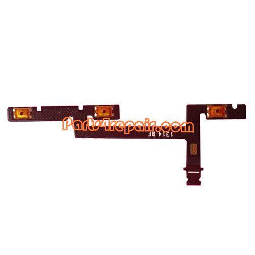 Volume Flex Cable for Huawei Ascend Mate MT1-U06