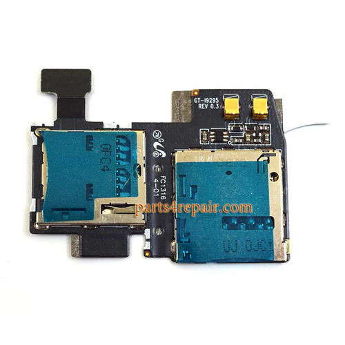 SIM Holder for Samsung I9295 Galaxy S4 Active from www.parts4repair.com