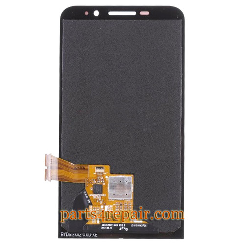 Complete Screen Assembly for BlackBerry Z30 -Black