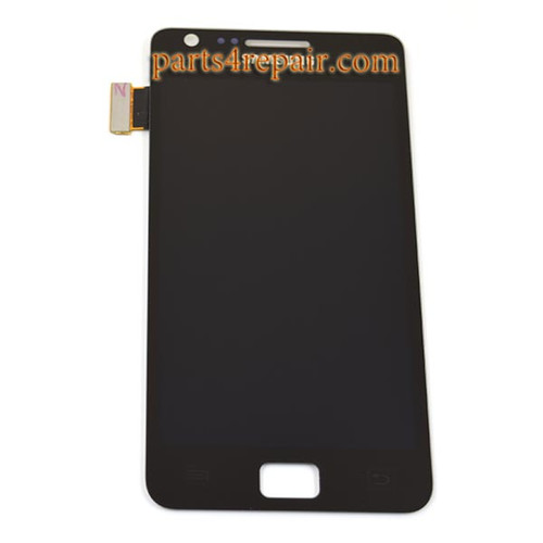 Complete Screen Assembly OEM for Samsung I9100 Galaxy S II -Black