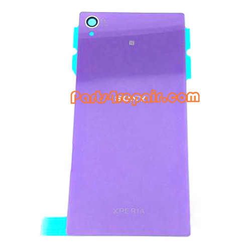 Back Cover for Sony Xperia Z1 L39H -Purple from www.parts4repair.com