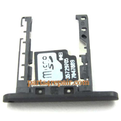 Micro SD Card Holder for Nokia Lumia 720 -Black
