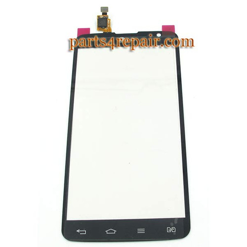 Touch Screen Digitizer for LG G Pro Dual Lite D686 -Black from www.parts4repair.com
