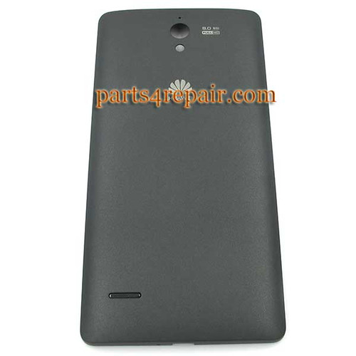 Back Cover for Huawei Ascend G700 -Black