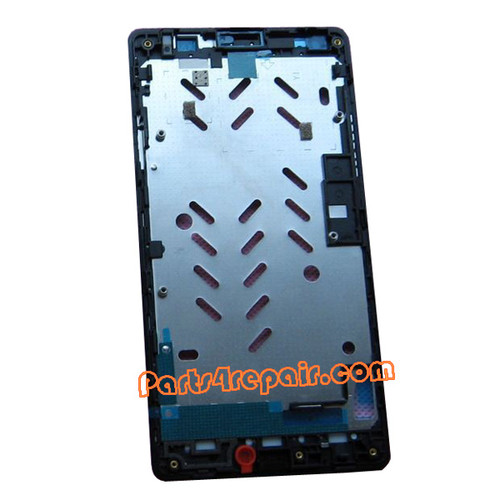 Front Housing Cover for Huawei Ascend G700 -Black
