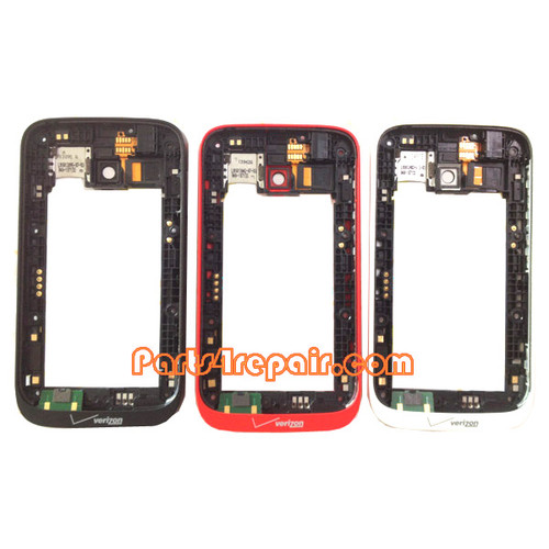 Middle Frame for Nokia Lumia 822 from www.parts4repair.com