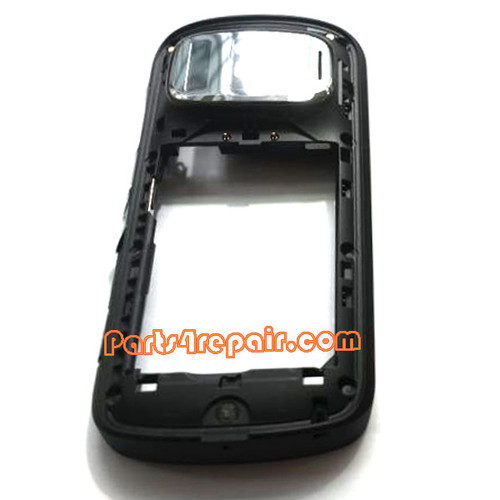 Middle Frame for Nokia 808 Pureview -Black from www.parts4repair.com