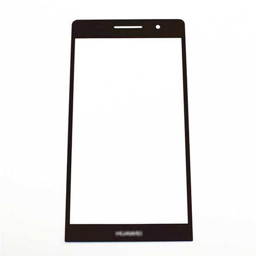 Front Gorilla Glass for Huawei Ascend P6 -Black from www.parts4repair.com