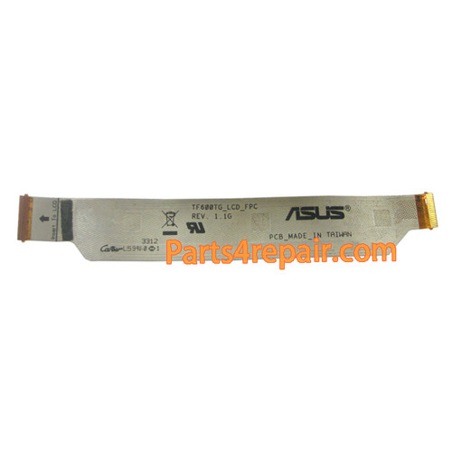 LCD Flex Cable for Asus Vivo Tab RT TF600T from www.parts4repair.com