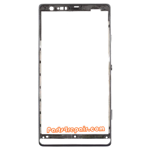 Front Bezel for Sony Xperia SP M35H -Black from www.parts4repair.com