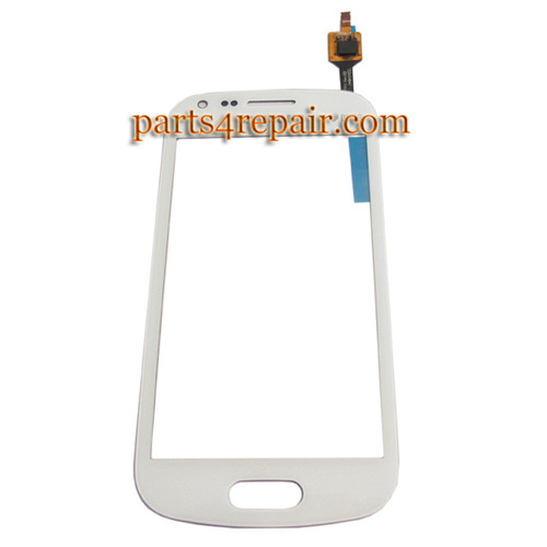 Touch Screen Digitizer for Samsung Galaxy S Duos 2 S7582 -White from www.parts4repair.com