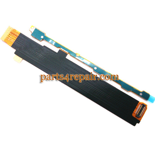 Side Key Flex Cable for Sony Xperia M C1905 from www.parts4repair.com