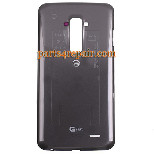 Back Cover for LG G Flex D950 (for AT&T) -Black from www.parts4repair.com