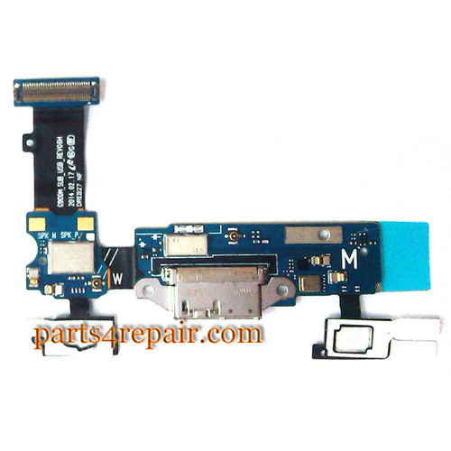 Dock Charging Flex Cable for Samsung Galaxy S5 G900M from www.parts4repair.com