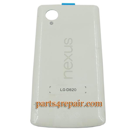 Back Cover with NFC for LG Nexus 5 D820 -White