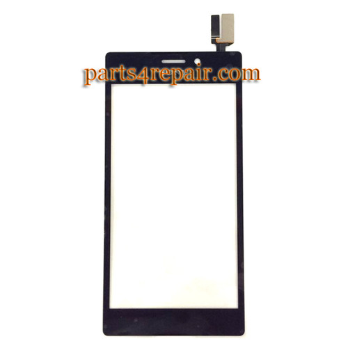 Touch Screen Digitizer for Sony Xperia M2 -Black from www.parts4repair.com