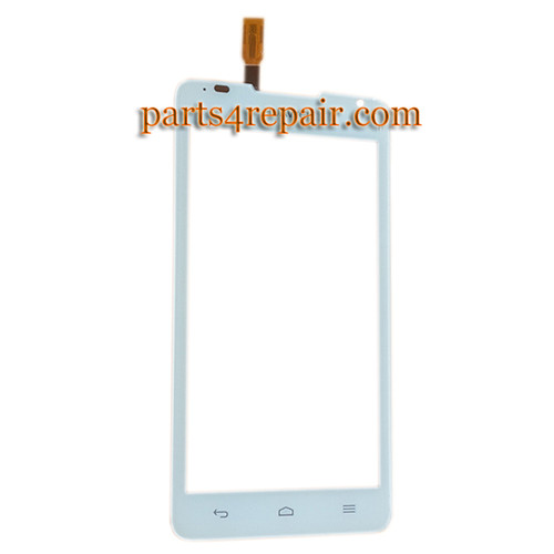 Touch Screen Digitizer for Huawei Ascend Y530 -White from www.parts4repair.com