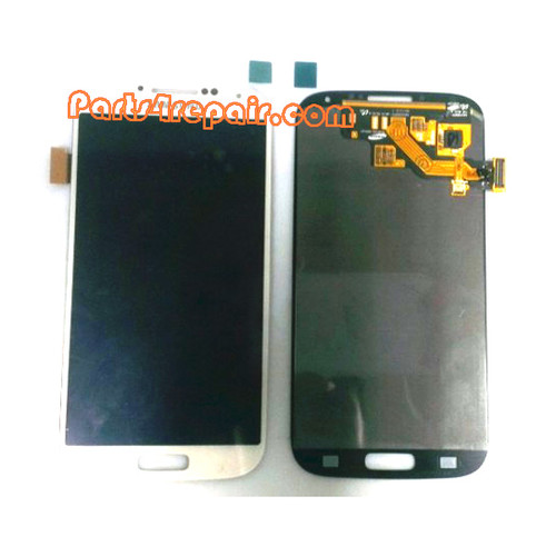 Complete Screen Assembly OEM for Samsung I9500 Galaxy S4 -White
