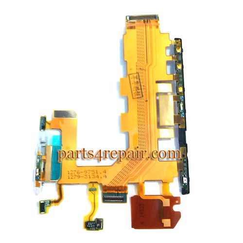 Side Key Flex Cable for Sony Xperia Z2 L50W
