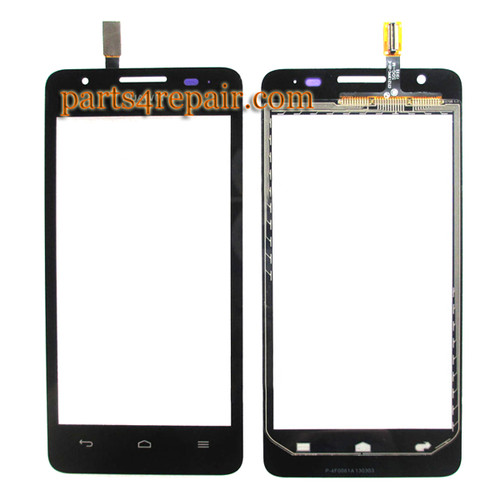 Touch Screen Digitizer for Huawei Ascend G525 -Black from www.parts4repair.com