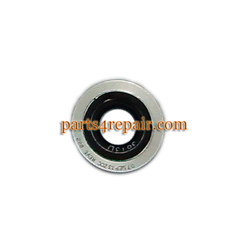 Camera Ring & Camera Lens for Motorola Moto X XT1058 -White (Used) from www.parts4repair.com