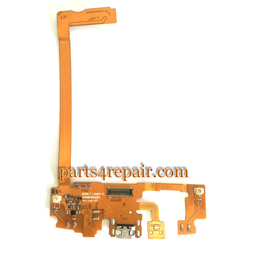 Dock Charging Flex Cable for LG Nexus 5 D820 from www,parts4repair.com
